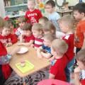 Цветотерапия. Знакомство дошкольников с красным цветом. Фотоотчет