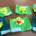 Конструирование из бумаги «Цыпленок»