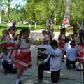 «Славный день родной страны!». Фотоотчет выступления детей на митинге, посвященном 71-й годовщине Дня Победы