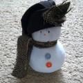 Мастер-класс по изготовлению игрушки из носка «Снеговичок»