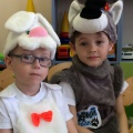 Фотоотчет пасхального праздника-сказки «Теремок» в средней группе