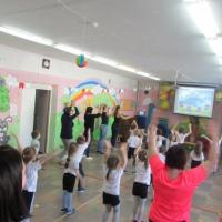 Физкультурный досуг детей старшей группы совместно с родителями «День здоровья»