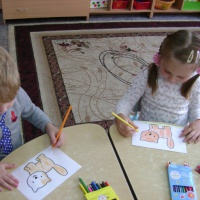 Конспект непосредственно образовательной деятельности по развитию речи «Радужные котята» в старшей группе