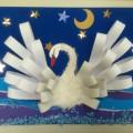 Мастер-класс по изготовлению аппликации «Царевна Лебедь»