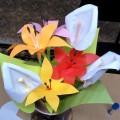 Мастер-класс по изготовлению цветов из бумаги «Лилии» и «Каллы» для мамочек на 8 Марта