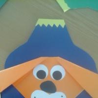 Оригами «Символ 2018 года— Собака»