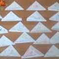 «Письма-треугольники». Познавательно-исследовательская деятельность с использованием технологии «Путешествие по реке времени»