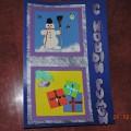 Мастер-класс по изготовлению новогодней открытки из картона