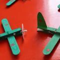 Занятие в подготовительной группе. Конструирование из бросового материала «Самолет построим сами»
