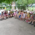 Летнее развлечение «Какого цвета лето?»Фотоотчет о конкурсе рисунков на асфальте