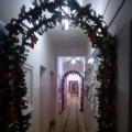 Новогоднее оформление коридора в детском саду