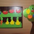 Дидактическая игра для детского сада своими руками «Сад и огород». Мастер-класс