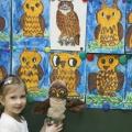 Конспект НОД по рисованию в старшей группе детского сада «Совушка— сонная головушка»