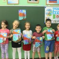 Фотоотчет о творчестве детей подготовительной группы «Чарует осени круженье»