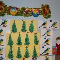 Конспект НОД по ручному труду в подготовительной к школе группе «Новогодняя елочка»