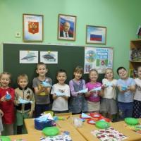 Мастер-класс по ручному труду в подготовительной к школе группе «Синий кит»