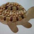 «Забавные черепашки» — поделка из природного материала