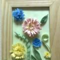 «Бумажные цветы». Работа в технике квиллинг