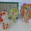 Конспект НОД в ОО «Художественно-эстетическое развитие» для детей 4–5 лет «Красота дымковской игрушки» (средняя группа)