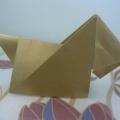 Мастер-класс «Скотч-терьер в технике оригами»