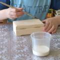 Мастер-класс по украшению деревянной шкатулки росписью