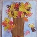 Нетрадиционная техника рисования ладошками «Дерево дружбы»