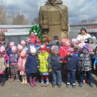 Фотоотчёт «Экскурсия к памятнику»