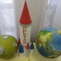 Мастер-класс по изготовлению макетов Земли и Луны ко Дню Космонавтики из папье-маше