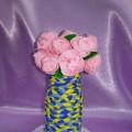 Мастер-класс по изготовлению вазы для оформления группы к празднику 8 Марта