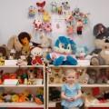 Мини-музей «Мягкая игрушка» в группе раннего возраста