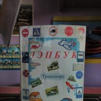 Лэпбук «Транспорт» с играми, пазлами, стихами, загадками