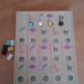 Дидактическая игра для детей дошкольного возраста «Домики»