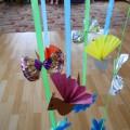 Мастер-класс «Подвесной блок для украшения группы» Веснянка»