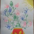 Коллективная работа к празднику «День матери»