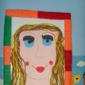 Конспект занятия по аппликации в старшей группе «Портрет моей мамы» из ниток