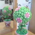 Мастер-класс «Детский топиарий «Весеннее дерево»