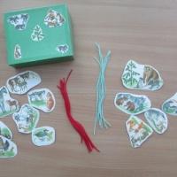 Дидактическая игра для детей старшего дошкольного возраста «Помоги найти дорожку» по теме «Дикие и домашние животные»