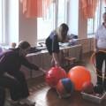 Семинар-практикум с родителями и детьми средней группы «Мяч— такой простой и озорной!»