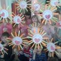 Детский мастер-класс «Солнышко лучистое»