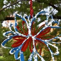 Мастер-класс «Новогодняя снежинка»