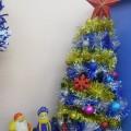 Оформление «Новогоднего уголка»