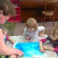 Коллективная работа «9 Мая» с детьми раннего возраста