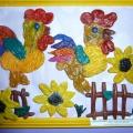 Выставка творчества в детском саду (фотоотчёт)