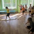 Фотоотчет со спортивного досуга для подготовительных к школе групп «Школа спасателей МЧС»