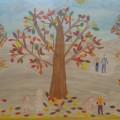 Коллаж «Мы в осеннем лесу»