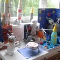 Выставка творческих работ детей по теме «Космос. Вселенная» (фотоотчёт)