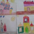 НОД по рисованию в подготовительной группе с интеграцией образовательных областей «Сказочный дворец»