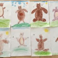 Конспект занятия по рисованию в подготовительной группе «Мишка косолапый»