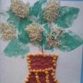 Детский мастер-класс в смешанной технике: «Черёмуха в цвету»!