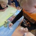 Коллективная работа «Мы рисуем сказку» (вторая младшая группа)